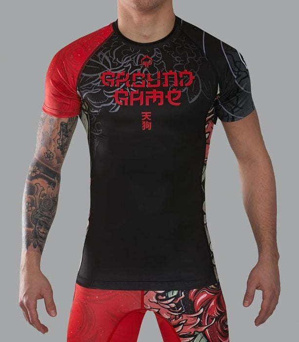 Ground Game Tengu Rashguard