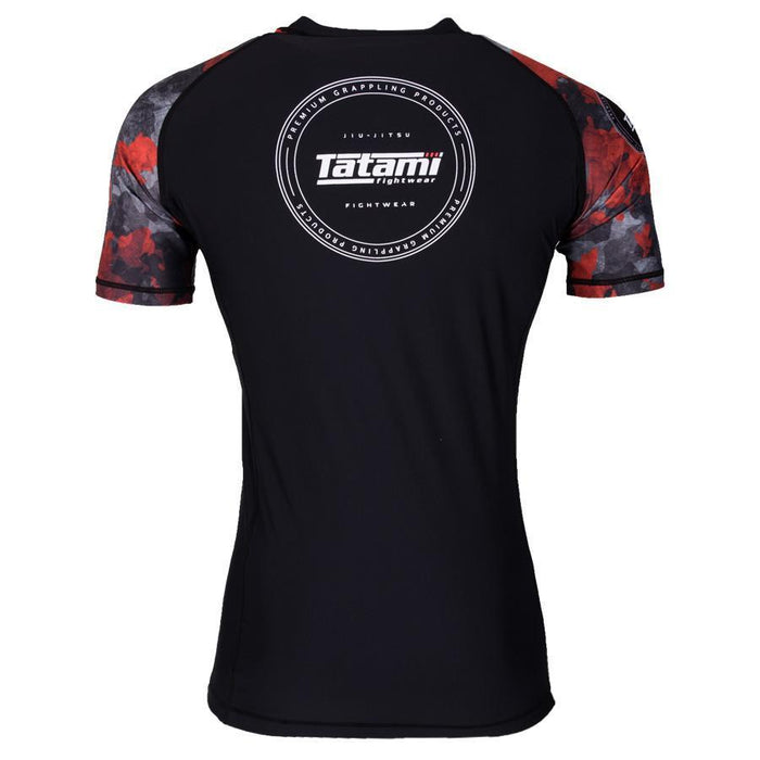 Tatami Renegade Red Camo Rash Guard