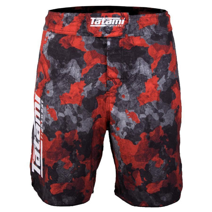 Tatami Renegade Red Camo Shorts