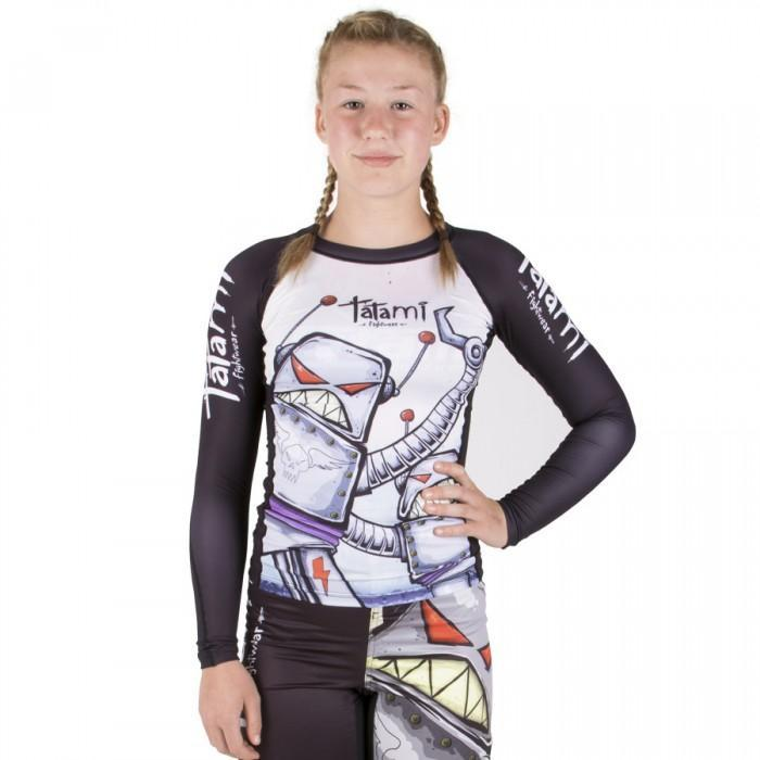 Tatami Kids Robots Rash Guard