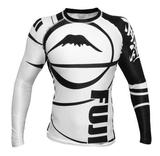 Fuji Sports Freestyle IBJJF Ranked Rashguard Lange Mouw