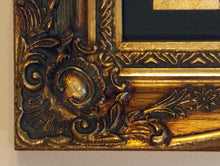 Load image into Gallery viewer, Framed Opening Pages of the Holy Quran in gold swept frame - KC2 - manara