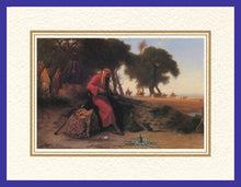 Load image into Gallery viewer, Mathaf Collection of Orientalist Art MC4 - Charles Theodore Frere - 'The Protector' (Pack of 5 cards and envelopes) - manara