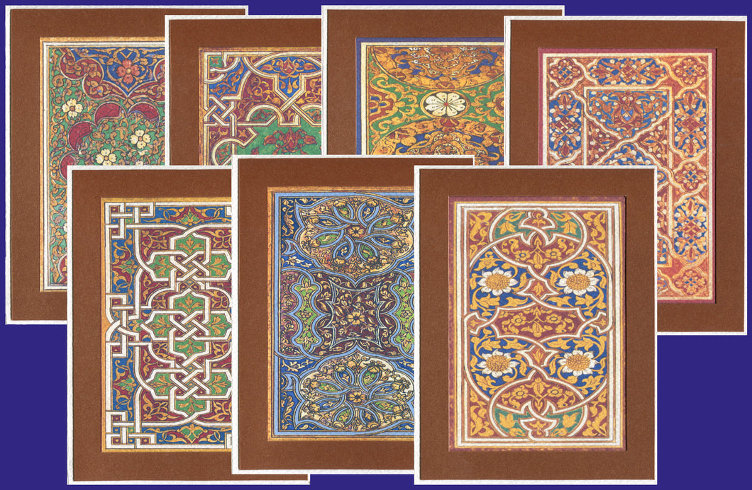 Obsession Collection of Arab and Islamic Art - MOCΩ complete (Pack of 7 cards and envelopes) - manara