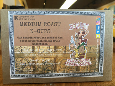 Medium Roast K-cups