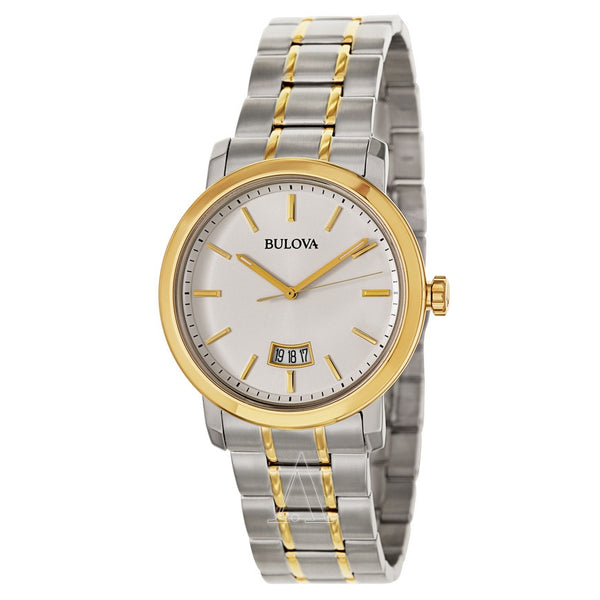 Bulova stainless steel men watch