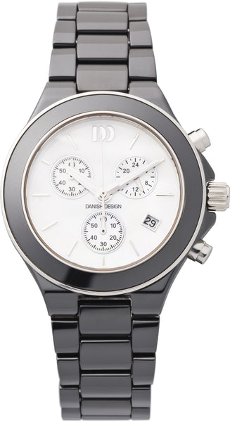 Danish design ceramic + stainless steel Unisex watch.