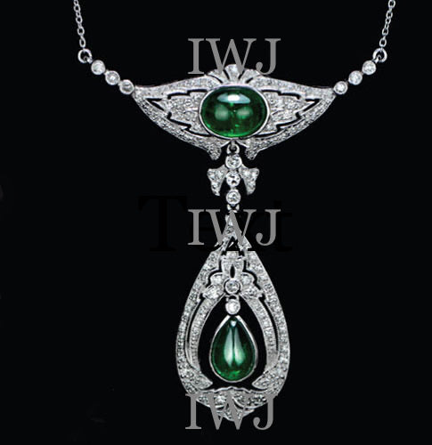 18ct Emerald and diamond