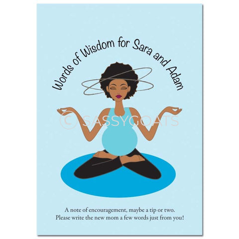 African American Baby Shower Games - Meditating Mommy