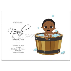 Baby Shower Announcement - Bucket