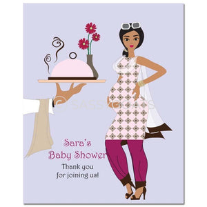 Baby Shower Party Poster - Dining Diva South Asian
