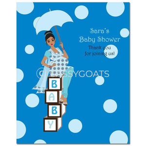 Baby Shower Party Poster - Diva Blocks South Asian