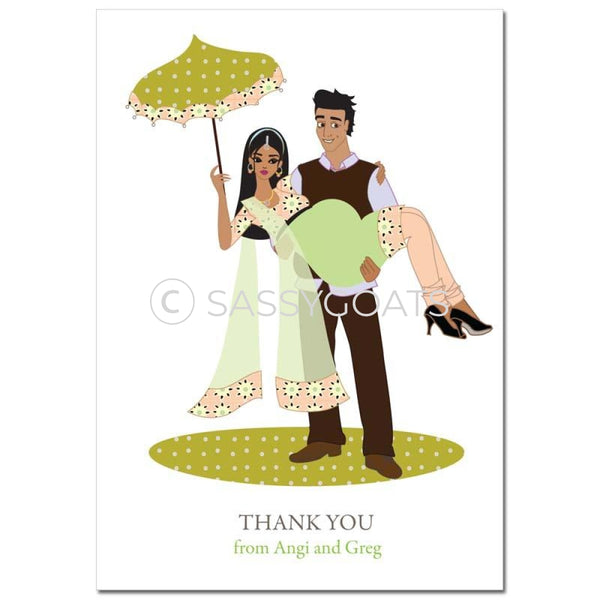 Baby Shower Thank You Card - Mommy Cargo South Asian