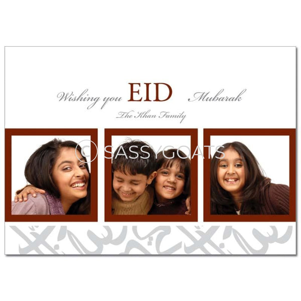 Eid Photocard -Framed Trio