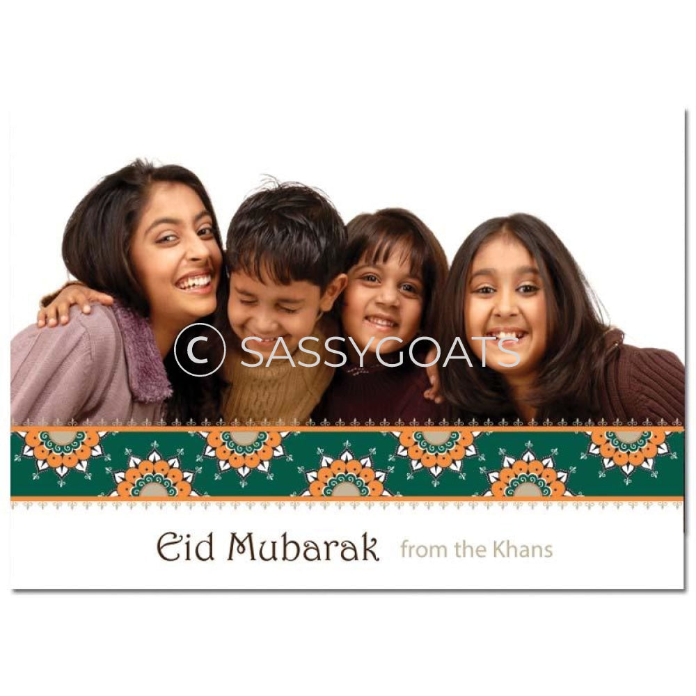 Eid Photocard - Ornate Border