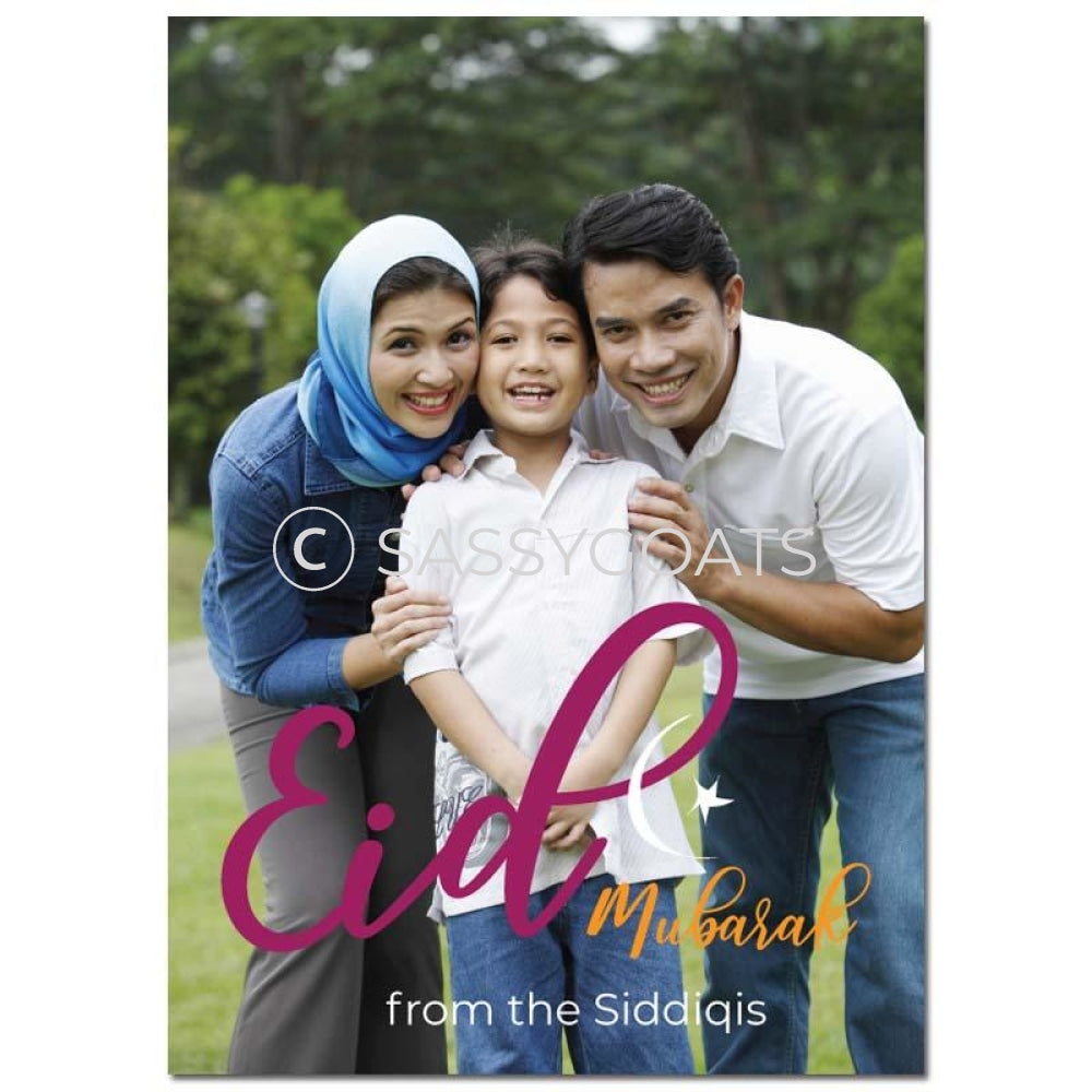 Eid Photocard - Simple Script