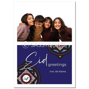 Eid Photocard - Split Emblem