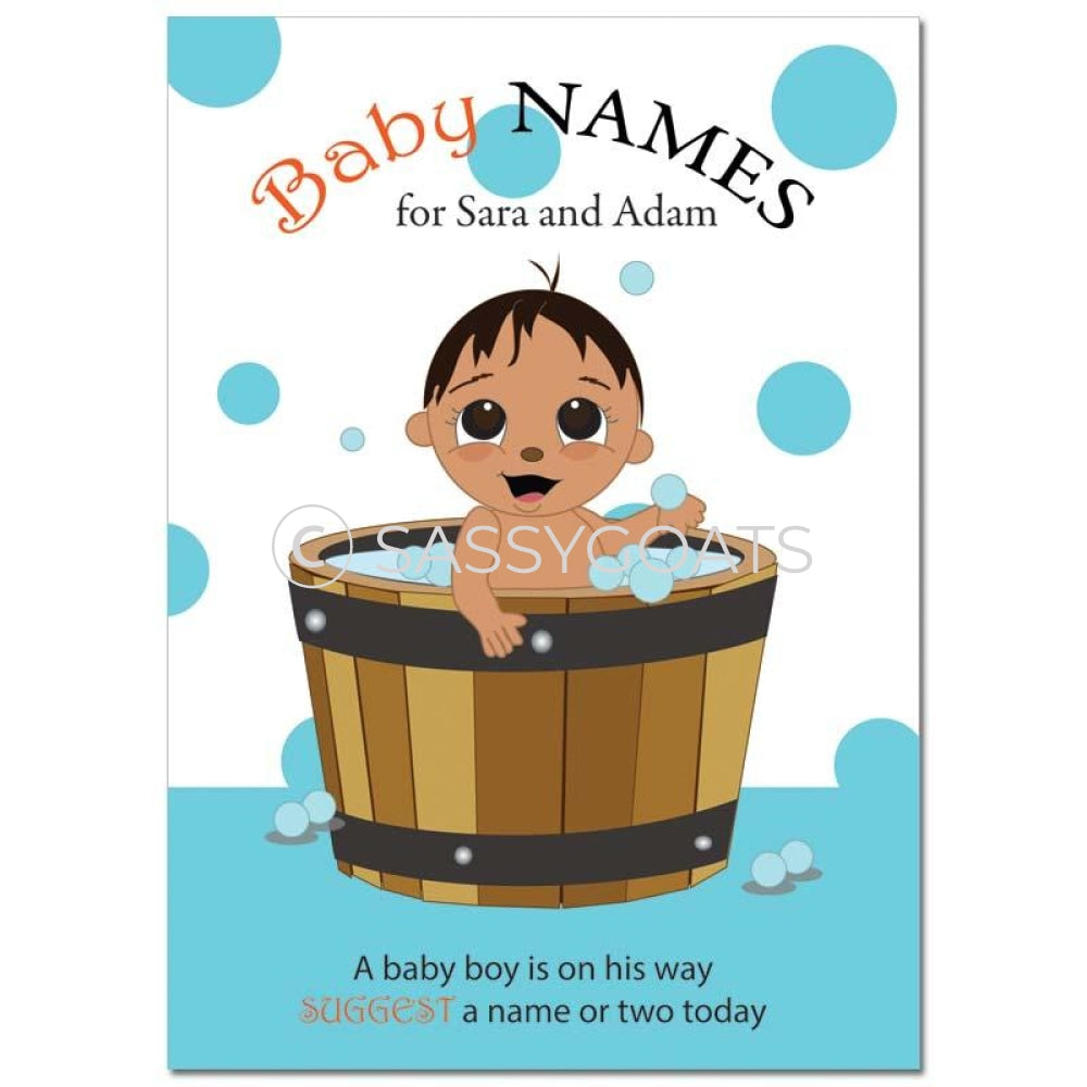 Indian Baby Shower Games - Bucket Name Suggestions