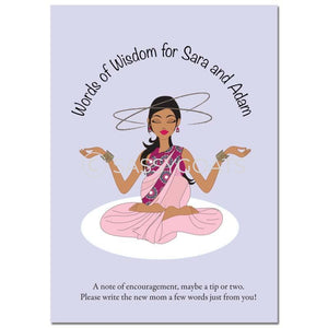 Indian Baby Shower Games - Meditating Mommy