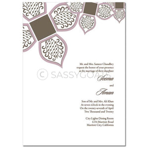Indian Wedding Invitation - Eastern Sparks