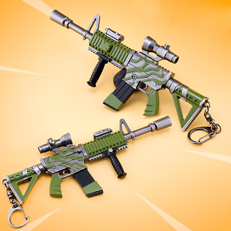 load image into gallery viewer fortnite thermal scoped ar model key chain - fortnite scoped ar