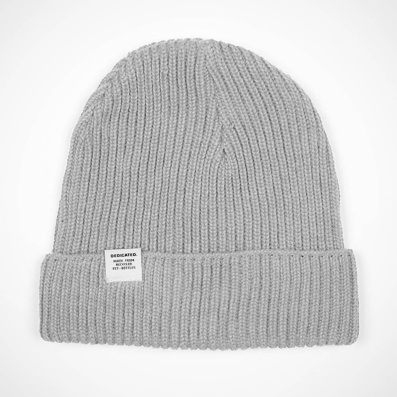 Lofoten Beanie Grey | Made from Recycled Bottles