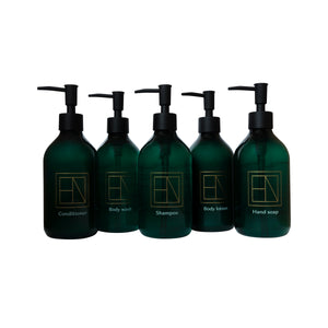 Body & Bath Set with Pumps | Large 5 x 400ml
