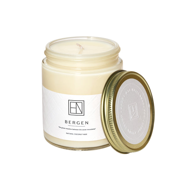 Candle 100% Organic Coconut Wax