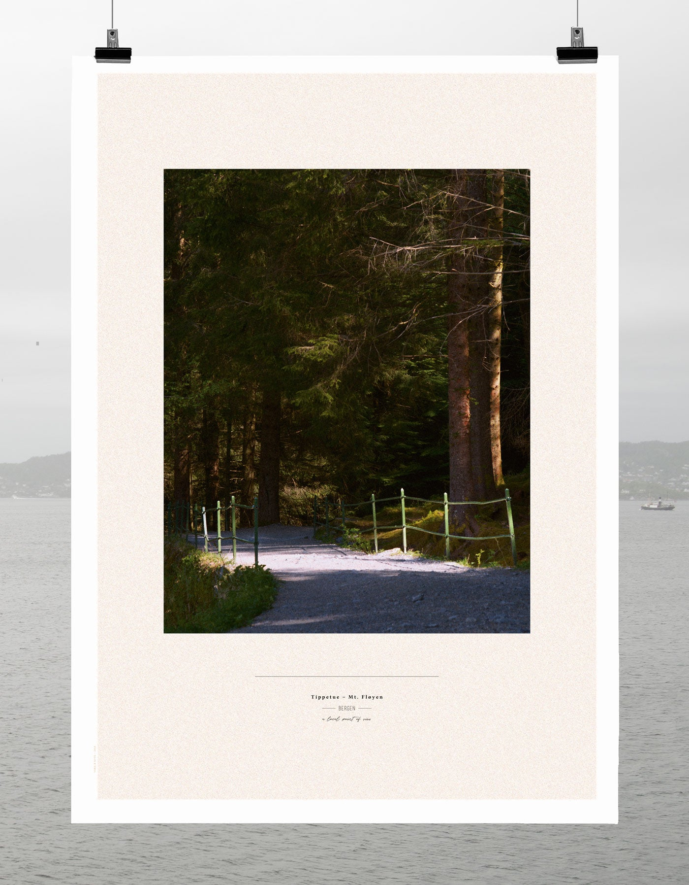 Tippetue Mt Fløyen | Limited Edition Print for Hotel Norge