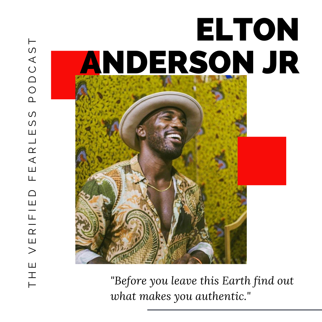 EP 27: On Finding Your Authenticity Through Surrender w/ Elton Anderson Jr
