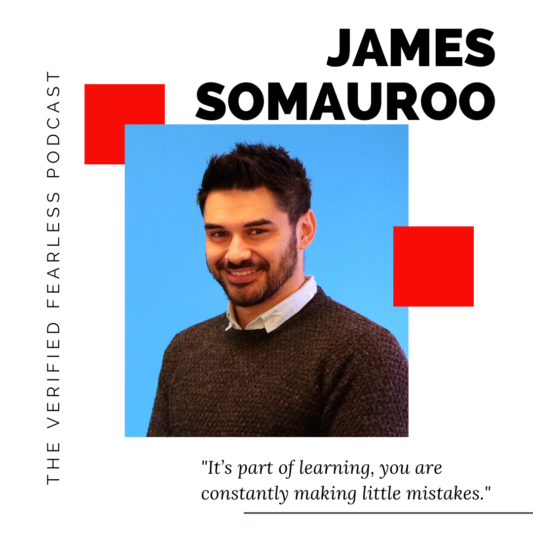 EP 13: Creating a Life That You Don't Need a Holiday From with James Somauroo