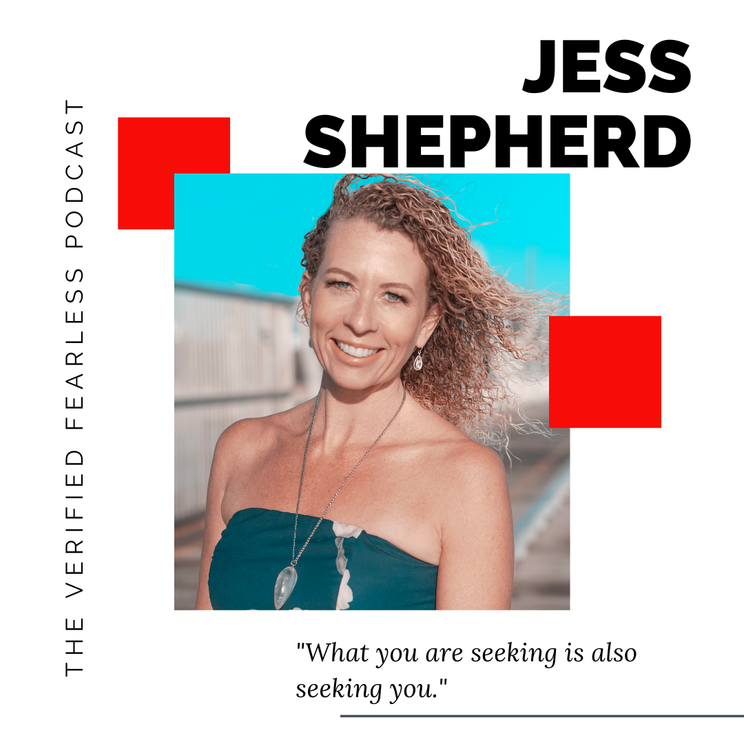 EP 03: The 'Secret' to Create the Life you Desire with Energy Healer Jess Shepherd