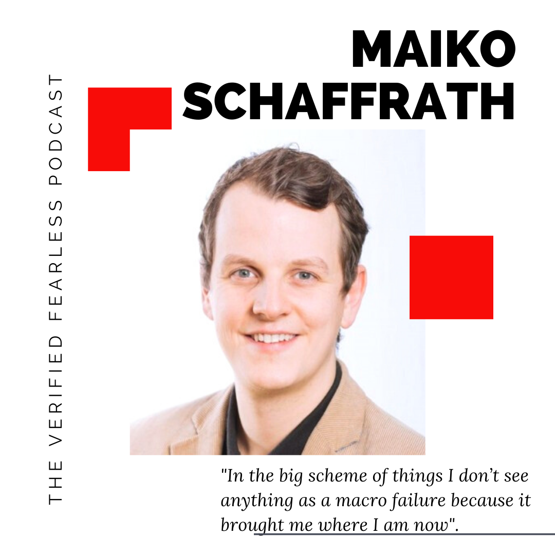 EP 04: Solving The World's Biggest Problems with Maiko Schaffrath
