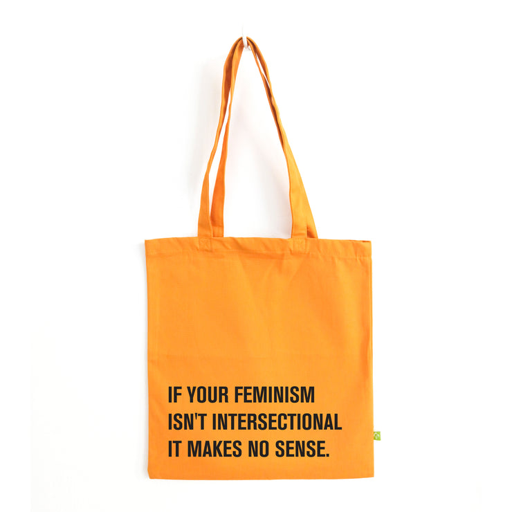Intersectional yellow tote