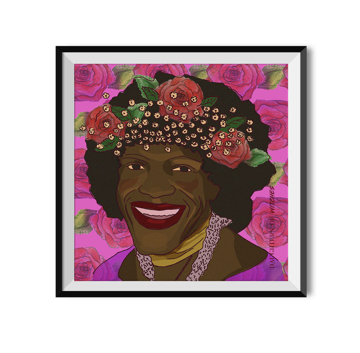 Witch Marsha P. Johnson Poster