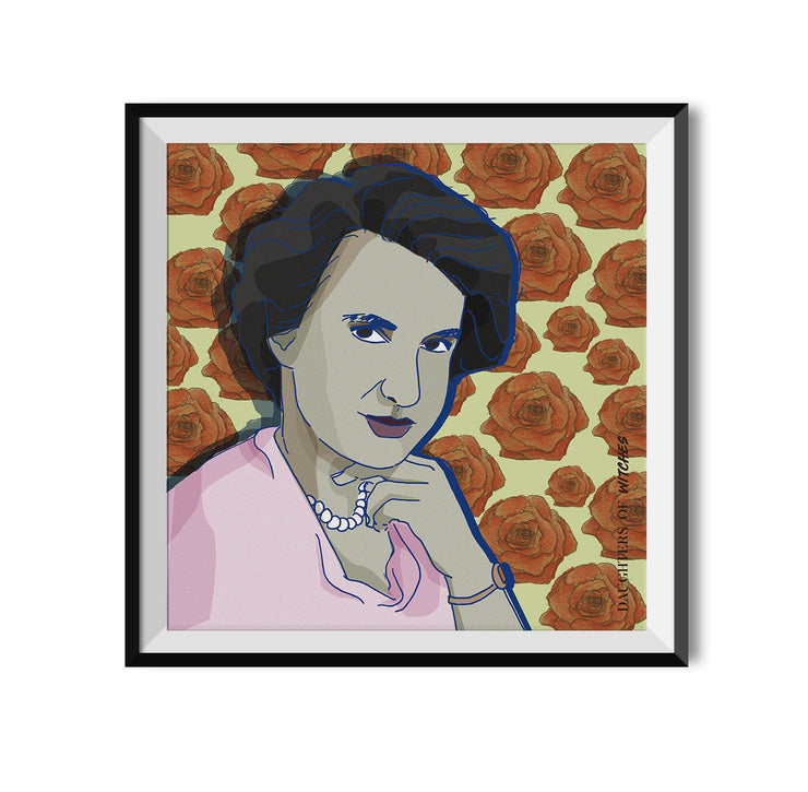 Witch Rosalind Franklin Poster