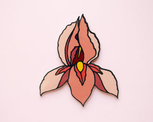 Pussyflower Vinyl Sticker