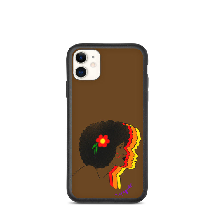 Afro Flower Phone Case