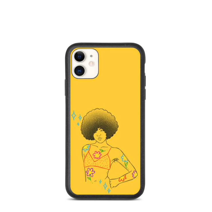 Afro Girl Phone Case
