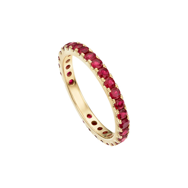 Gold & Ruby Band