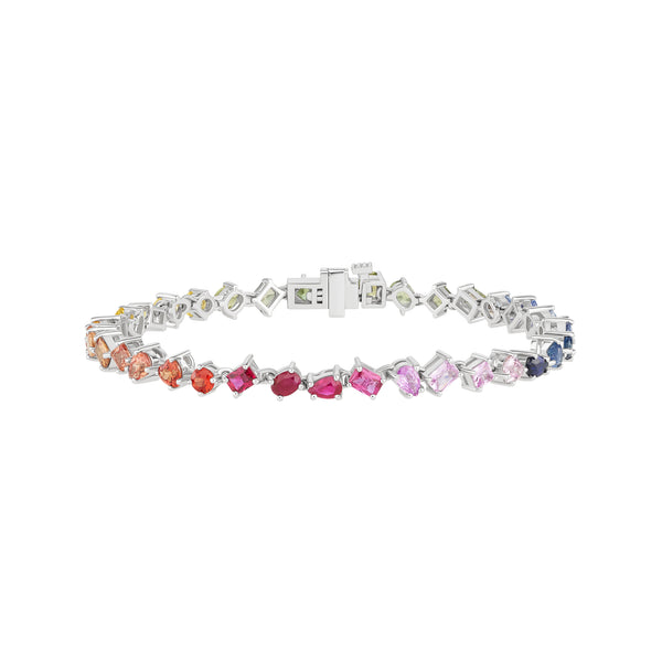 Fancy Shaped Tennis Bracelet