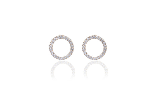 Diamond Circle Stud