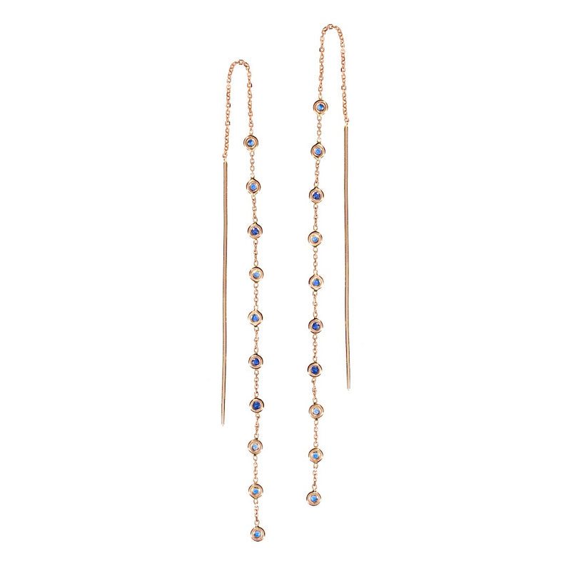 Delicate Multi Stone Earrings