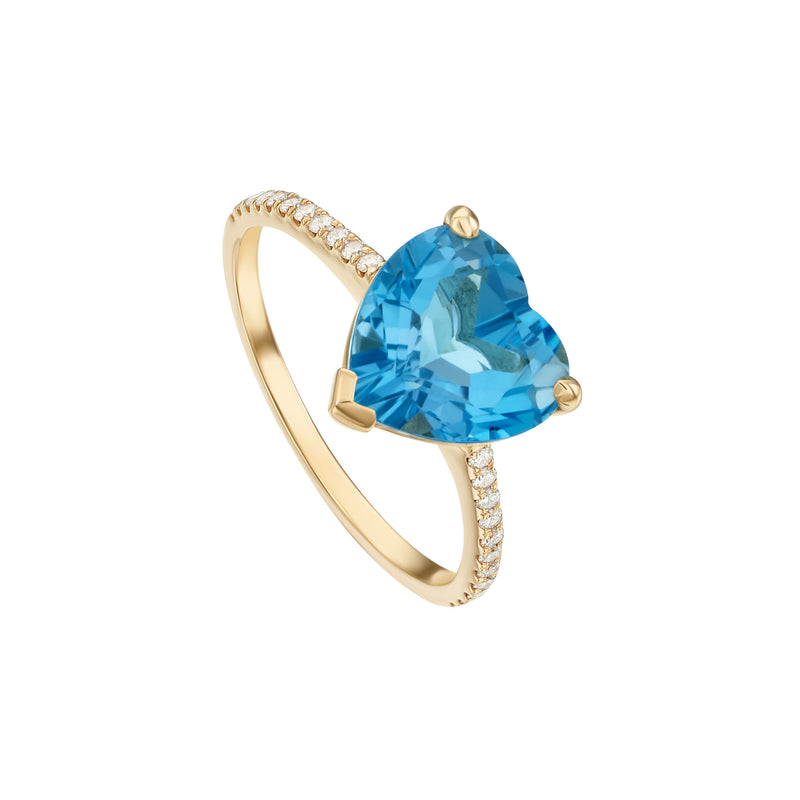 Love in Blue and Diamonds