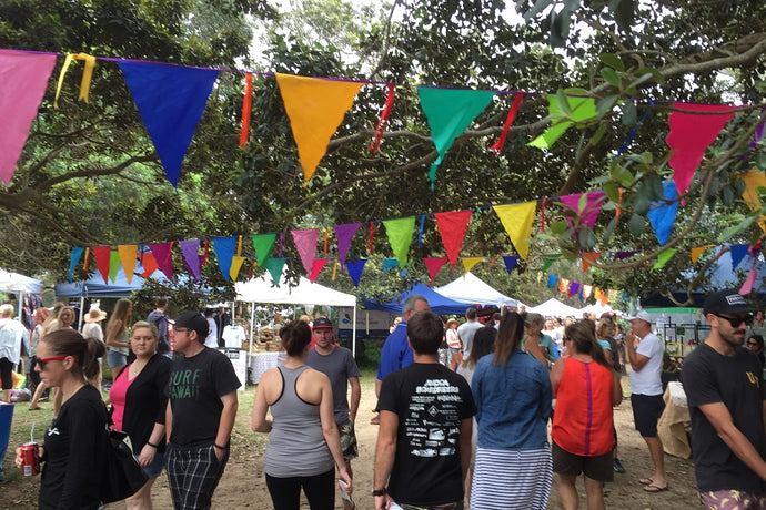 Multi Coloured Bunting - 20  metres