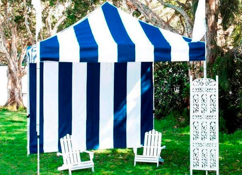 Navy Stripe Canopy