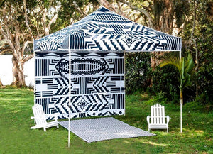Tribal Black Canopy
