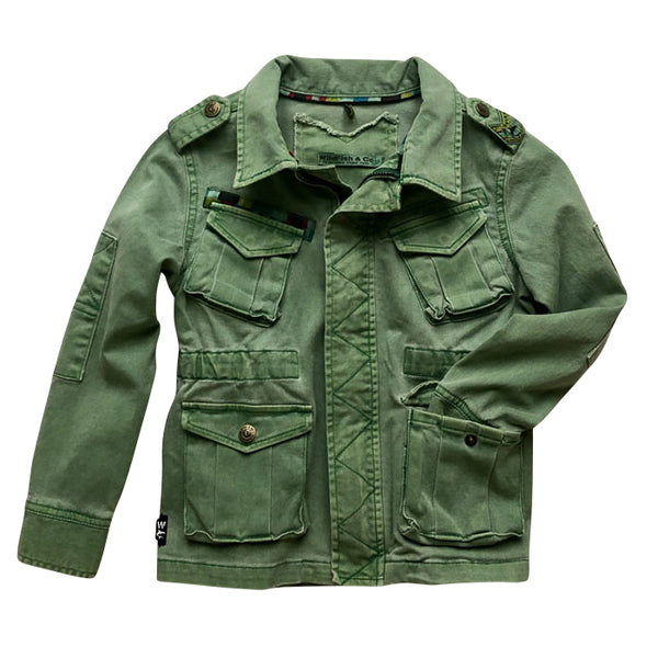Alfons Jacket Deep Green