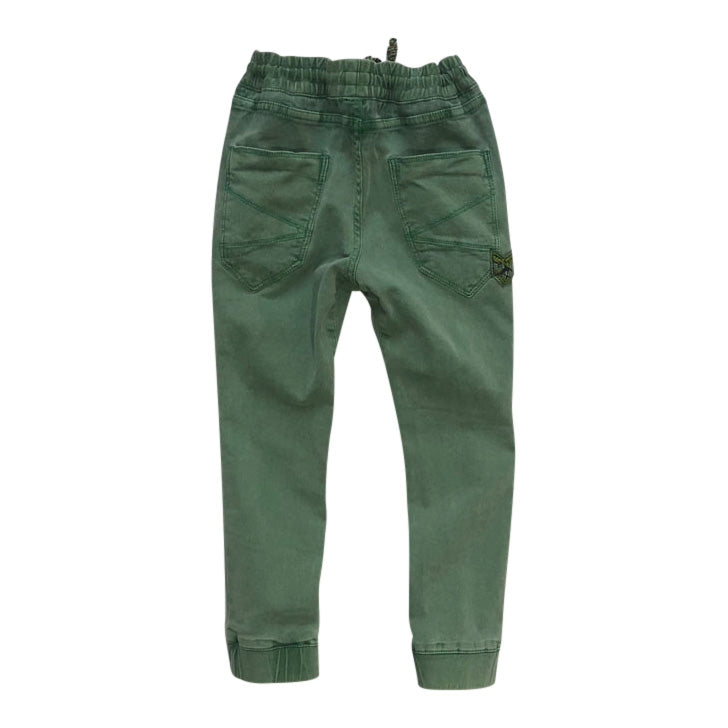 Enrico Baggy Trouser Deep Green