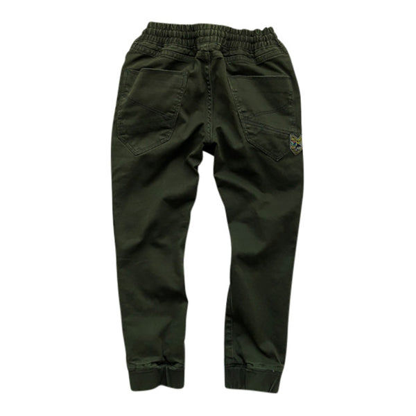 Enrico Baggy Trouser Winter Moss
